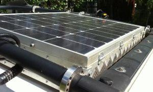 Солнечная батарея на крышу автомобиля