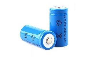 Аккумулятор 16340 на 3,7 вольт