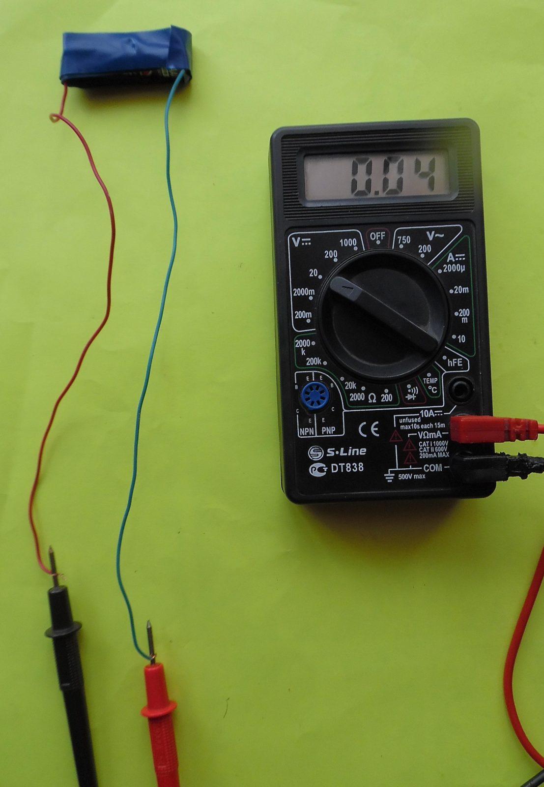 мизинчиковая батарейка