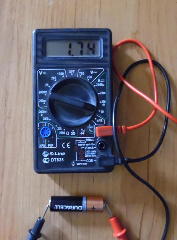 Измерение емкости мультиметром