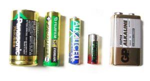 Какие батарейки в игрушках?