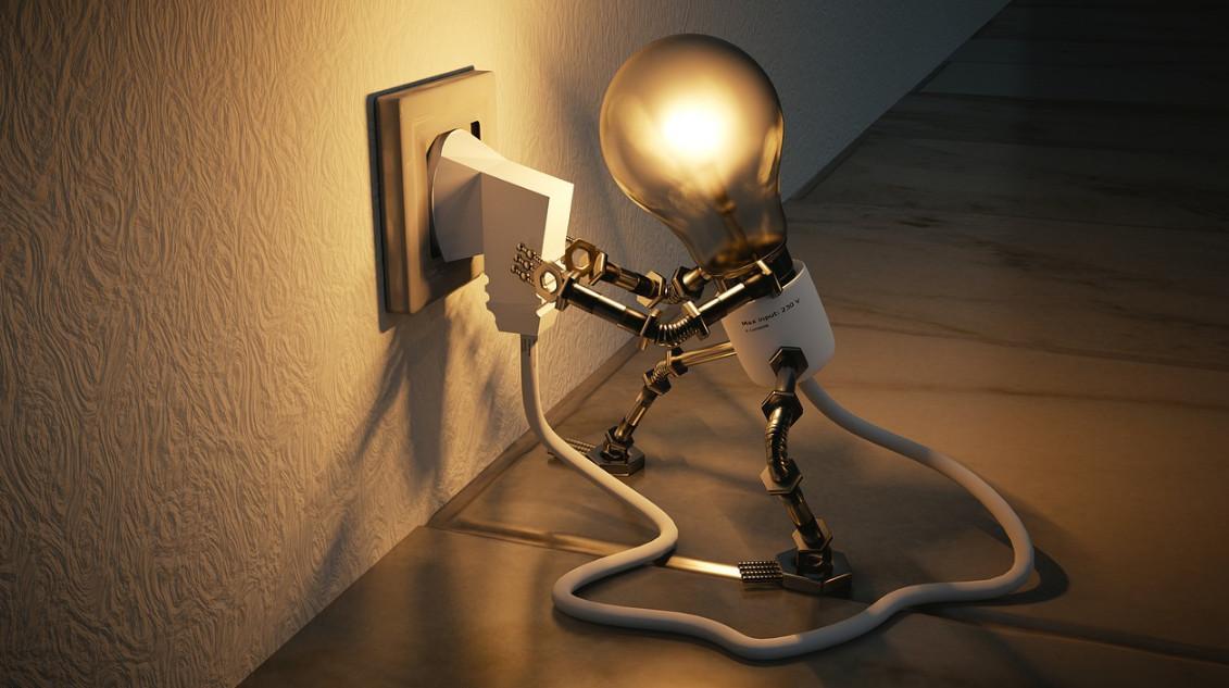 как подключить лампочку к батарейке