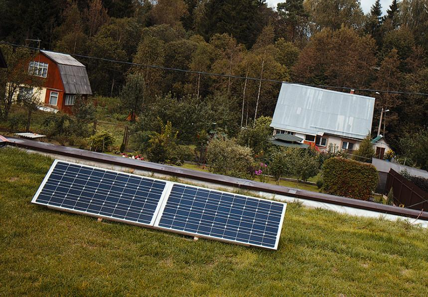 Использование солнечных батарей в Подмосковье