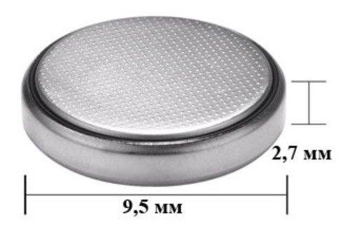 Размеры батарейки sr927w