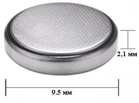 Параметры батарейки 370