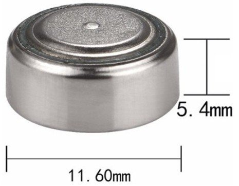параметры батарейки lr1154