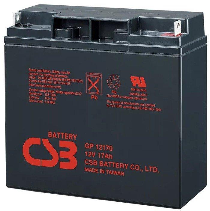 батарея csb gp 12170 на 12 вольт