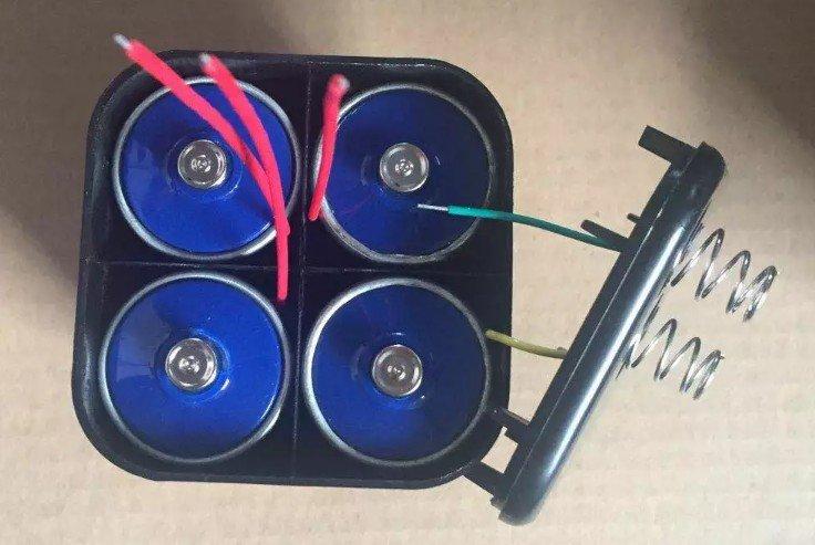 Батарейка 4r25 в разборе
