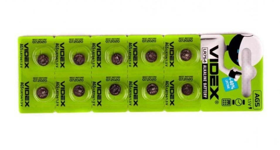 lr754 батарейка