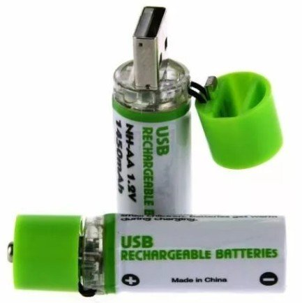 USB батарейка акб