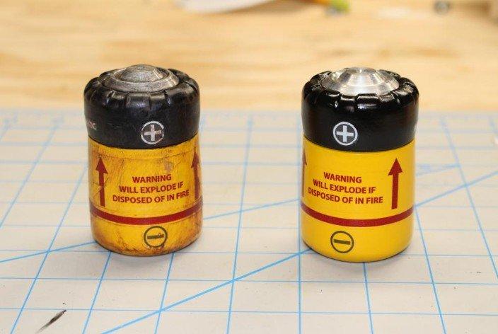 Батарея из игры fallout