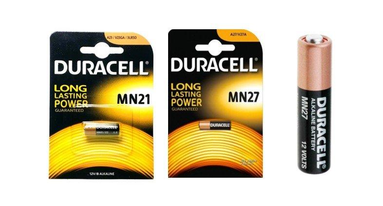 батарейка mn21 и 27