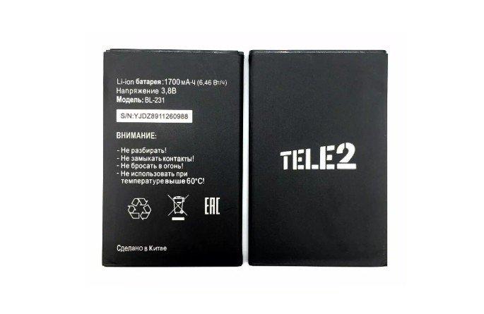 батарейка на теле2 миди