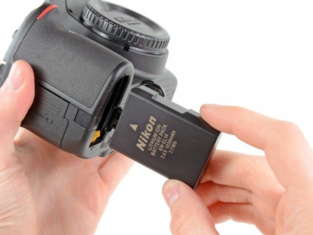 Элемент питания для фотоаппарата никон