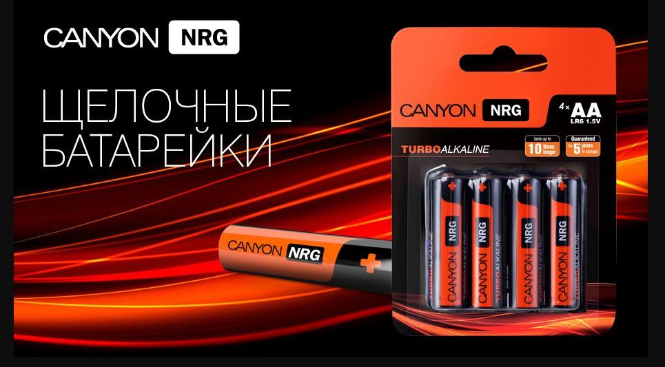 Компания батареек Canyon