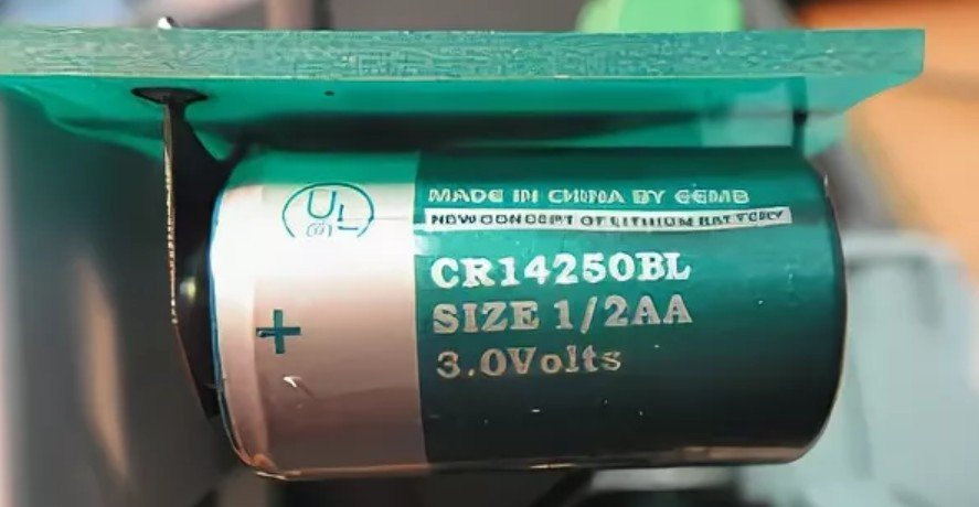 Литиевая батарейка для меркурия 234