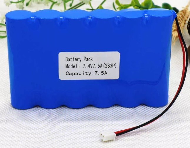 Пример обозначения батарейки для квадракоптера