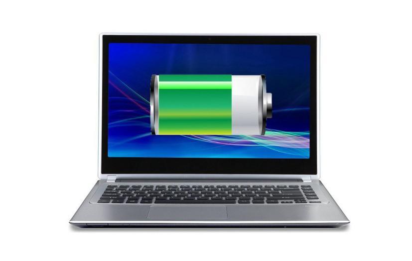 Пропал значок батареи на ноутбуке